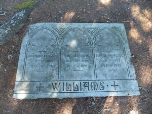 Williams Family Gravemarker