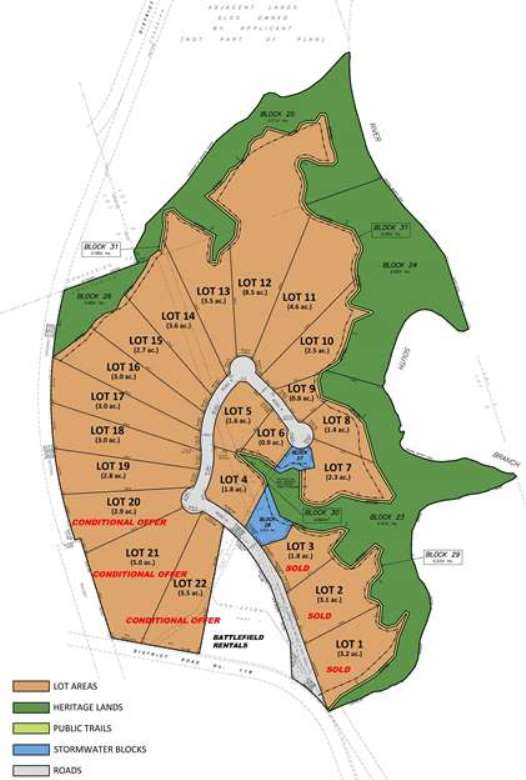 Map of Canyon Court Business Park