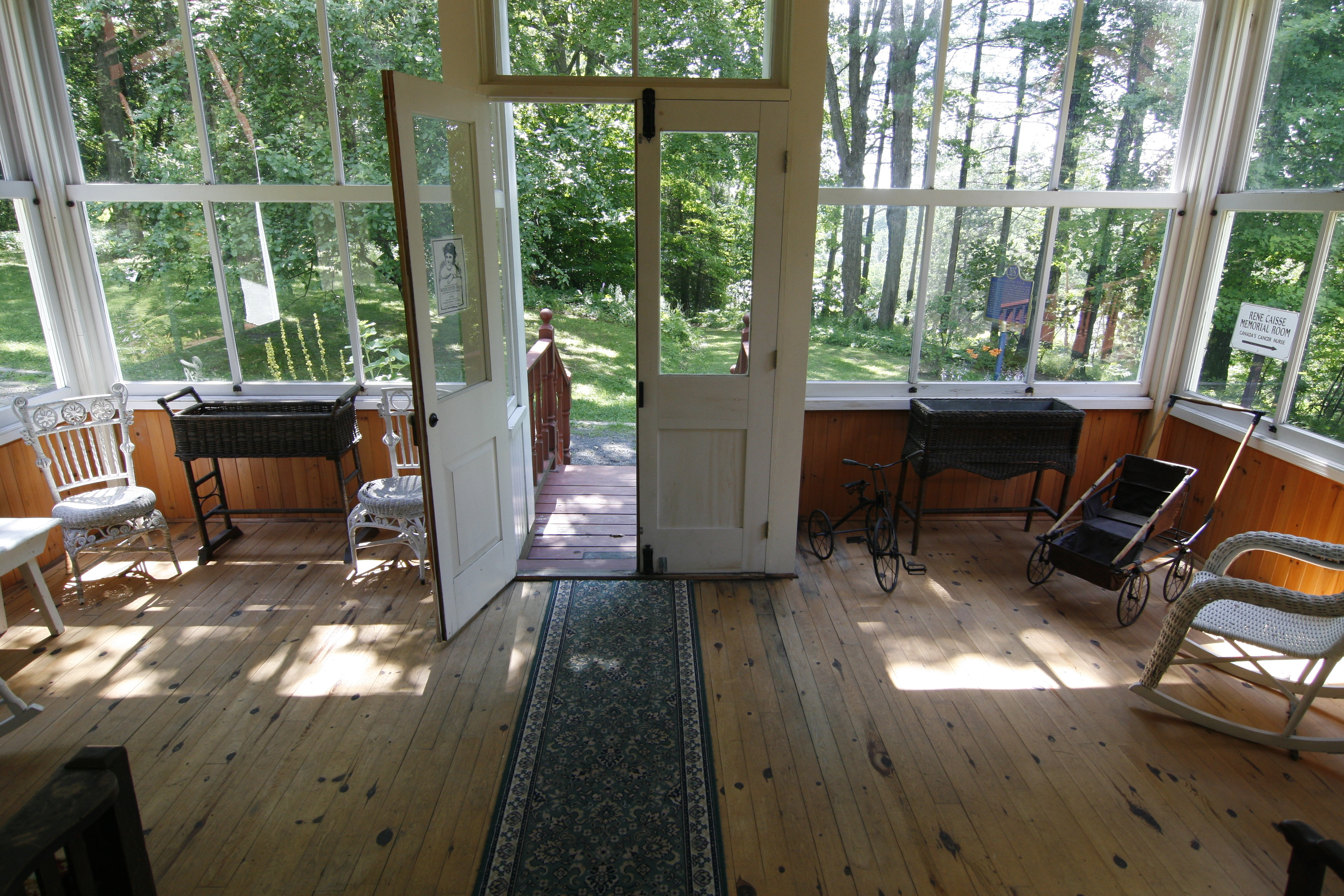 Image of sunroom inside Woodchester