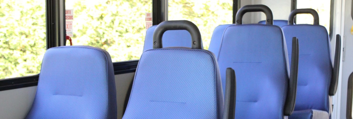 Seats on the Transit Bus
