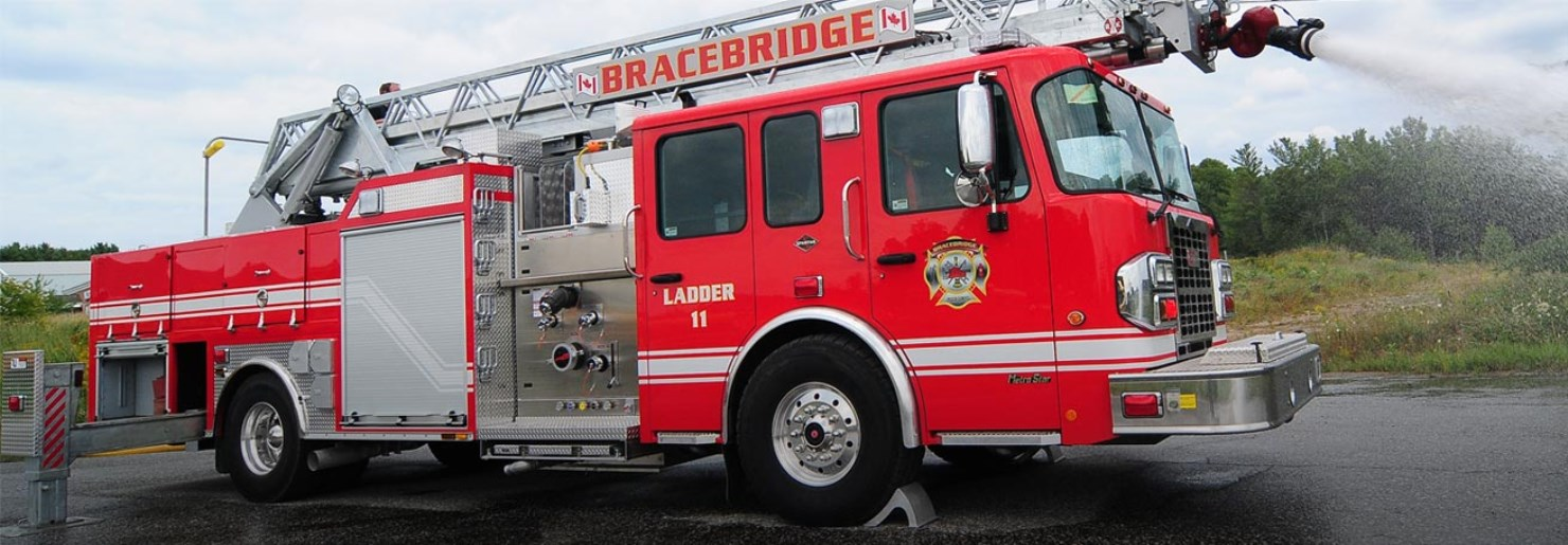 Bracebridge Ladder truck
