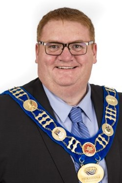 portrait of Mayor - Graydon Smith