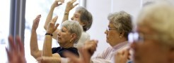 Image of Seniors practicing Tai Chi