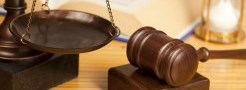 Image of scale and gavel